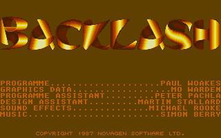 Screenshot of Backlash