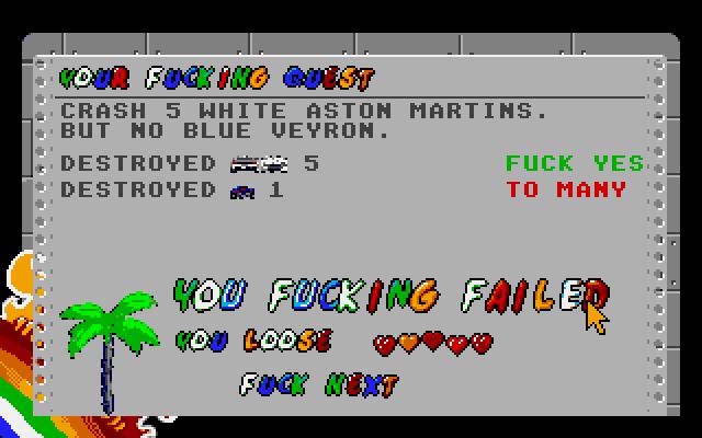 Screenshot of Anarcho Ride