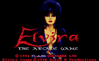 Thumbnail of other screenshot of Elvira - The Arcade Game