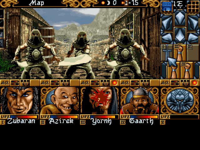Screenshot of Ishar 3 CD