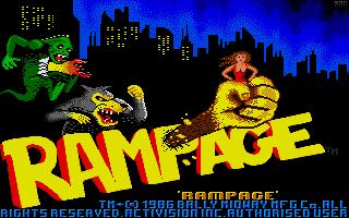Screenshot of Rampage