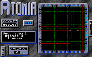 Screenshot of Atomia