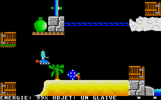 Screenshot of Cybertron
