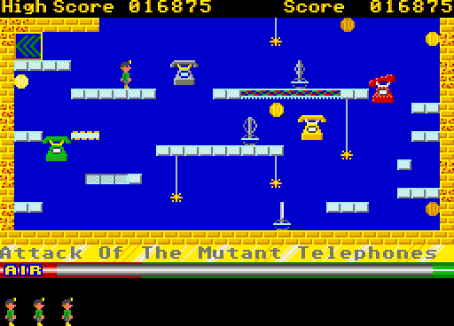 Screenshot of Manic Miner