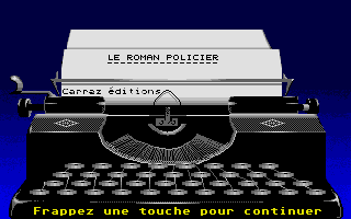 Thumbnail of other screenshot of Roman Policier