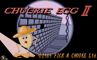 Thumbnail of other screenshot of Chuckie Egg 2