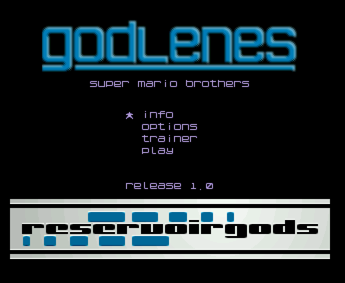 Thumbnail of other screenshot of Super Mario Brothers - Godlenes
