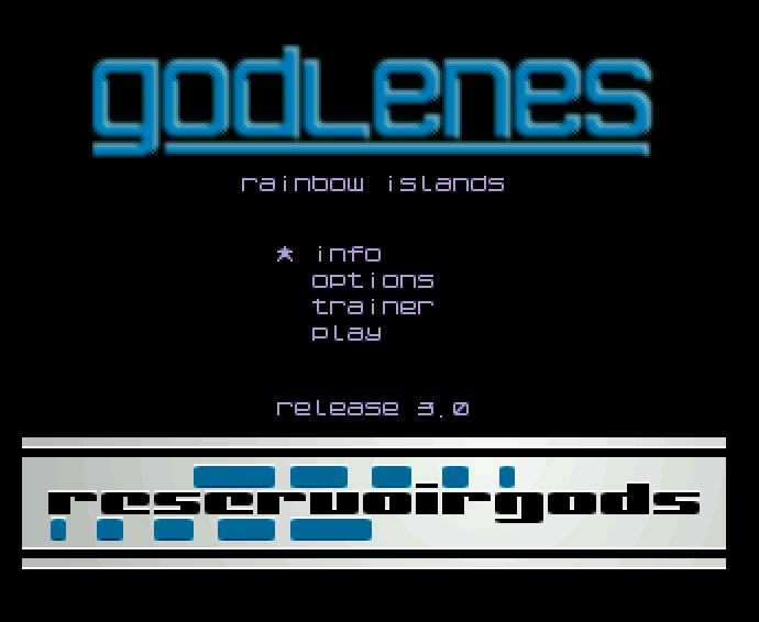 Screenshot of Rainbow Islands - Godlenes