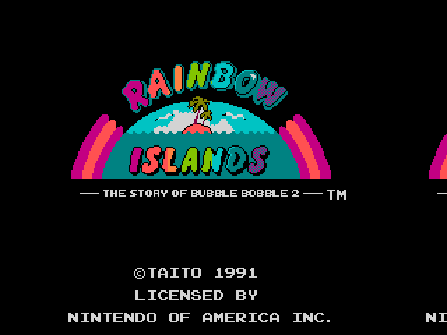 Thumbnail of other screenshot of Rainbow Islands - Godlenes