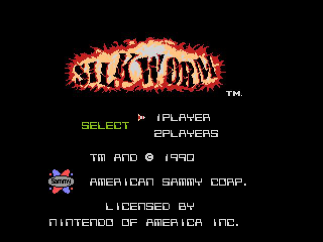 Screenshot of Silkworm - Godlenes