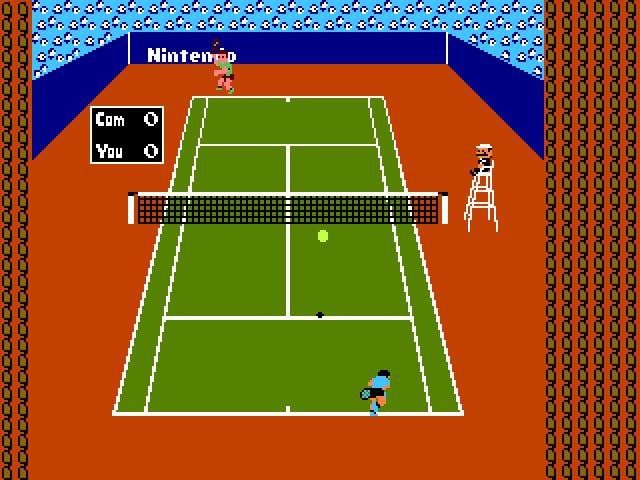 Screenshot of Tennis - Godlenes