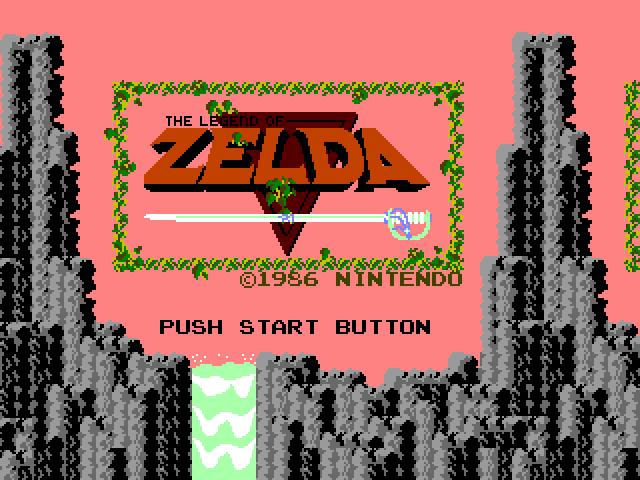 Screenshot of Zelda - Godlenes