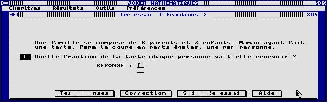 Thumbnail of other screenshot of Joker Micro - Maths 6e