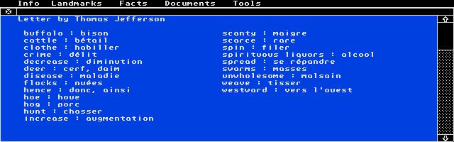 Screenshot of Micro Bac Anglais