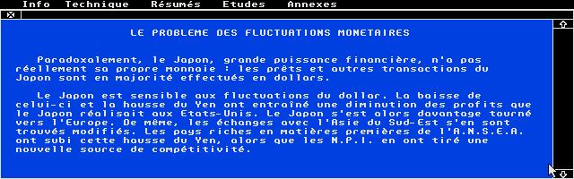 Screenshot of Micro Bac Géographie