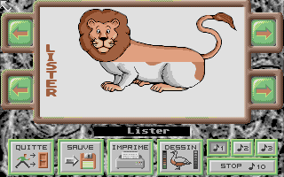 Screenshot of Animaux, Les