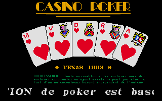 Thumbnail of other screenshot of Casino Poker