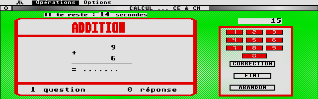 Thumbnail of other screenshot of Calcul C.E.
