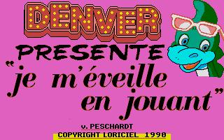 Thumbnail of other screenshot of Denver Présente Je M'éveille En Jouant