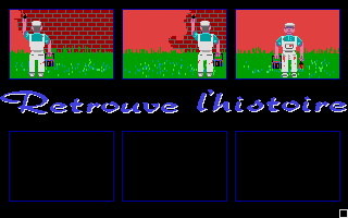 Screenshot of Retrouve L'Histoire