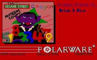 Screenshot of Sesame Street - Numbers Count