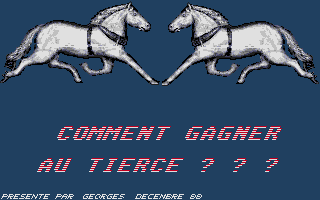 Thumbnail of other screenshot of Comment Gagner au Tiercé ? ? ?