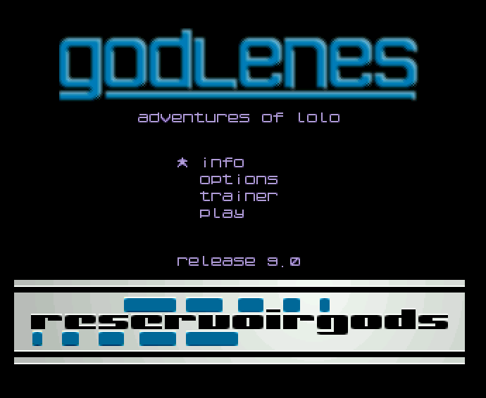 Screenshot of Adventures Of Lolo, The - Godlenes
