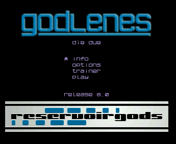Screenshot of Dig Dug - Godlenes