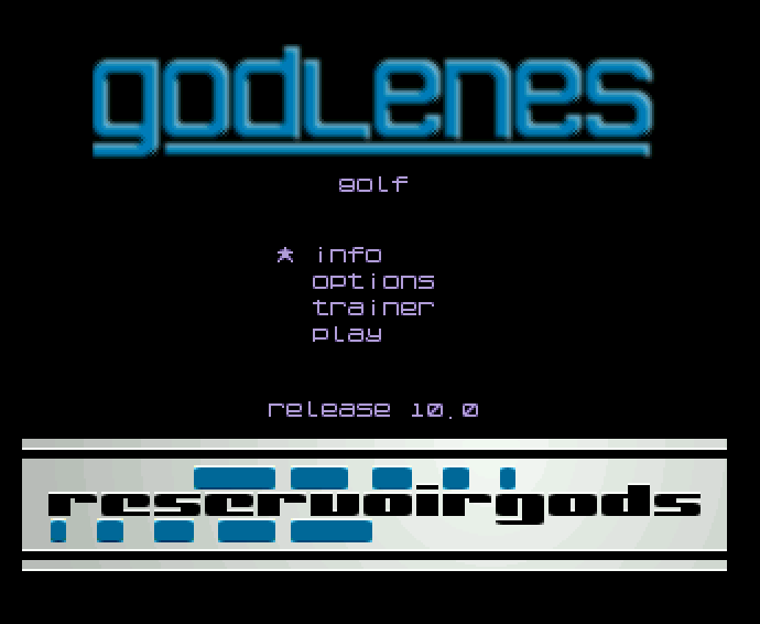 Screenshot of Mario Golf - Godlenes