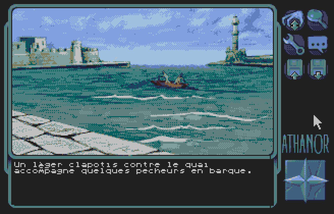 Screenshot of Athanor 2 - La Légende Des Hommes-Oiseaux