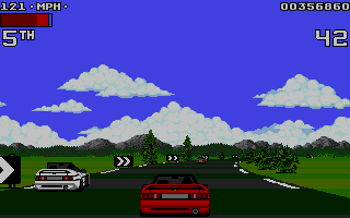 Screenshot of Lotus Turbo Challenge 2
