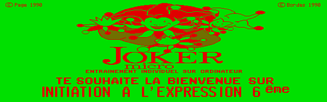 Thumbnail of other screenshot of Joker Micro - Initiation à l'Expression 6e