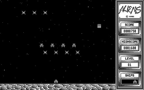 Screenshot of Aliens