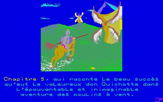 Screenshot of Folle Lecture de Don Quichotte, La