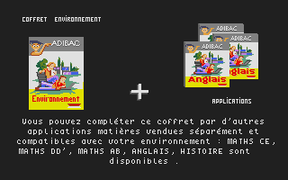 Thumbnail of other screenshot of Adibac Environnement
