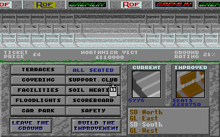 Screenshot of Premier Manager 2 - The New Season