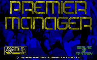 Screenshot of Premier Manager