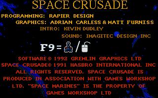 Screenshot of Space Crusade - The Voyage Beyond