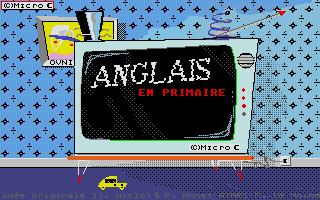 Screenshot of Anglais - Primaire