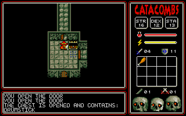 Screenshot of Catacombs