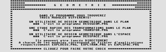 Thumbnail of other screenshot of Géométrie