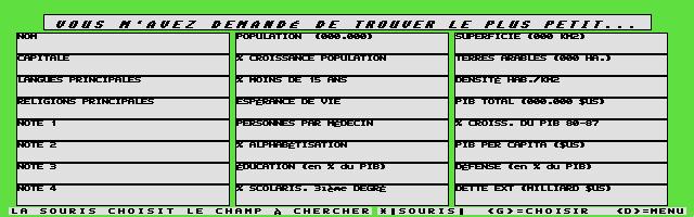 Thumbnail of other screenshot of Géographie - Votre Atlas Électronique