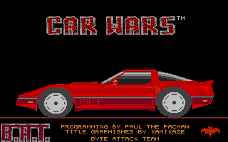 Thumbnail of other screenshot of Car Wars
