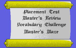 Screenshot of Word Master, The