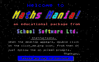 Thumbnail of other screenshot of Maths Mania