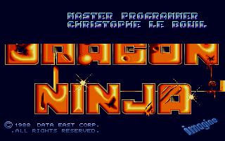 Screenshot of Dragon Ninja