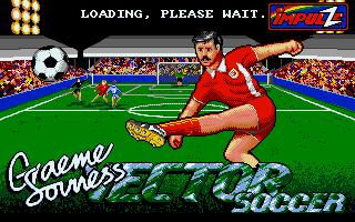 Screenshot of Graeme Souness Vector Soccer