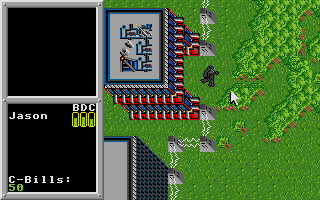 Screenshot of Battletech