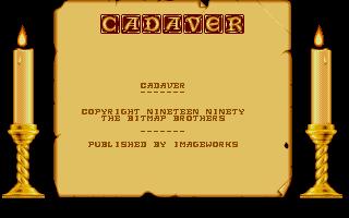 Screenshot of Cadaver