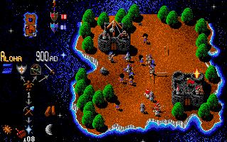 Screenshot of Mega-lo-mania